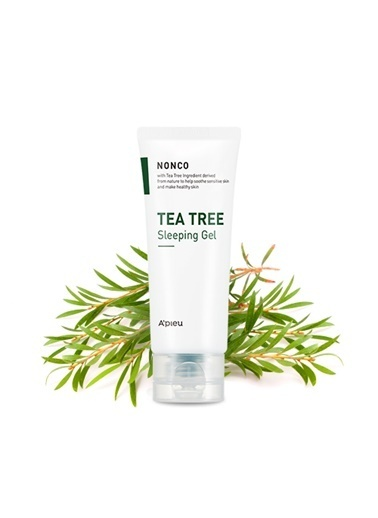 Missha A'Pıeu Nonco Tea Tree Sleeping Gel Renksiz